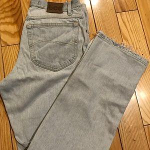 Vintage LEE Distressed Jeans 32x30 Lightwash